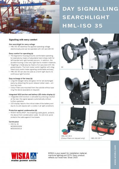 Searchlight HML-ISO 35