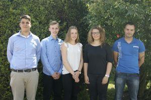 Zum neuen Lehrjahr konnte WISKA fünf neue Auszubildene begrüßen