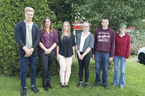 WISKA begrüßt sechs neue Auszubildende