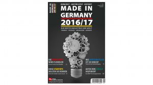 """Made in Germany"" magazine presents Brace System as a technical highlight in 2017"