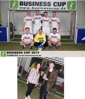 Platz 4 und Spieler des Turniers – WISKA beim Business Cup 2017
