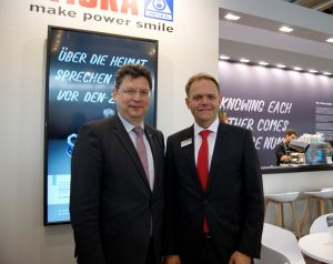 Schleswig-Holsteins Wirtschaftsminister besucht WISKA