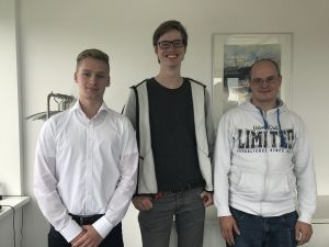 Vier neue Auszubildende starten bei WISKA ins Berufsleben!