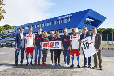 Hamburg industrial company WISKA becomes official sponsor of HSV young talents