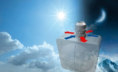 High air flow rate with a space-saving design - The new breathable VentPLUG pressure equalization units emphasize WISKA´s Venting competence