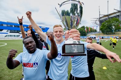 Goals, team spirit, football fever: WISKA kicks off its first Business Cup