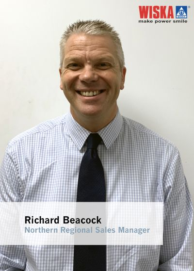 Richard Beacock joins WISKA UK Ltd as Northern Regional Sales Manager