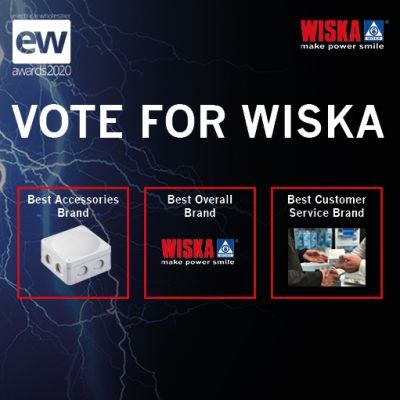 VOTE FOR WISKA AT THIS YEARS EW AWARDS