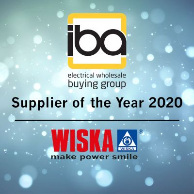 WISKA UK Ltd win IBA's Supplier of the Year 2020