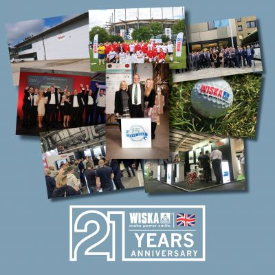 WISKA UK Ltd turns 21