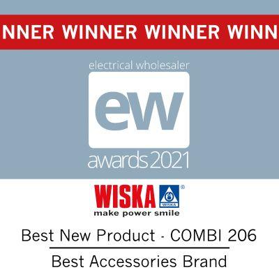 WISKA Win the Double at EW Awards 2021